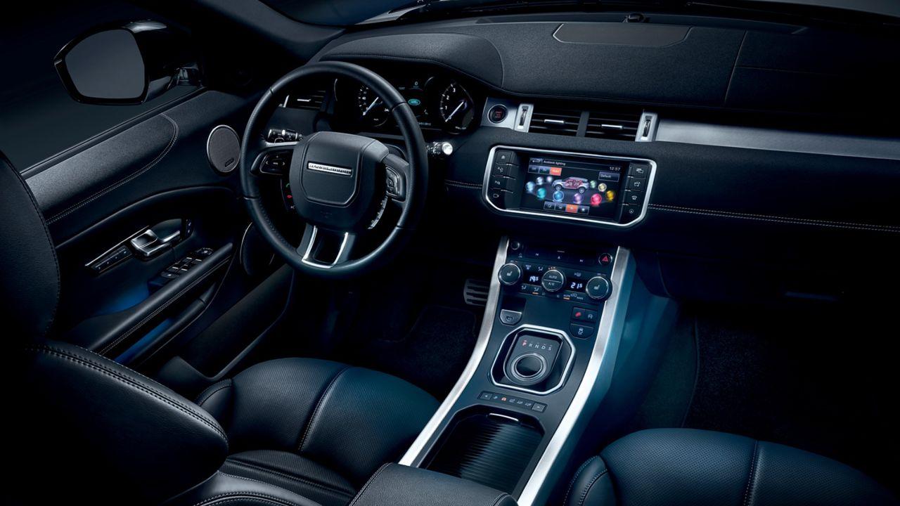 Range Rover Evoque Inside Stewart S Automotive Group