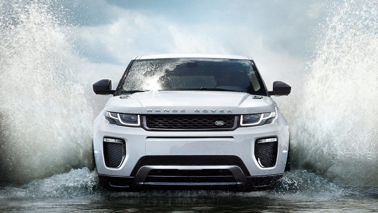 Superb Range Rover Evoque Water