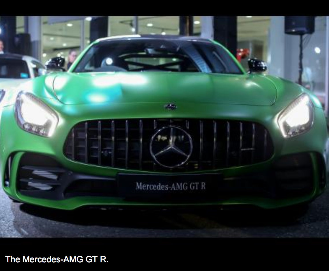 Last Wednesday, April 18, 2018, Silver Star Motors, In Association With  Mercedes Benz, Held A Private Viewing Of The Caribbeanu0027s First Mercedes AMG  GT R, ...