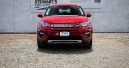 2018 Land Rover Discovery Sport 2.0L HSE